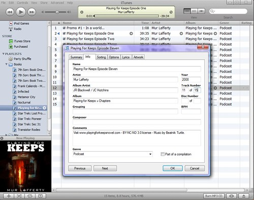 Itabc01 Convert Podcast Into Audiobook Update All Id Tag K