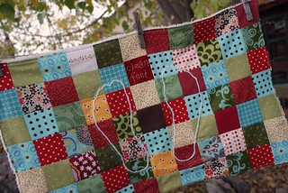 patchwork bath mat | by sew liberated