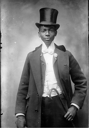 Boy with Walking Cane and Top Hat | by Black History Album