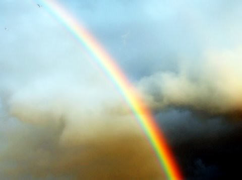Somewhere over the rainbow...skies are blue... | by nushuz