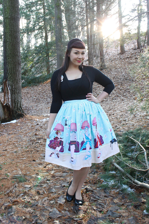 unique vintage skirt