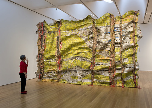 Lines that Link Humanity by El Anatsui | by The North Carolina Museum of Art