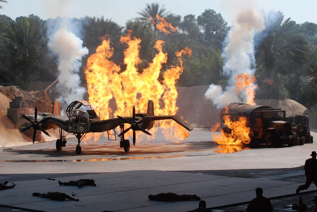 indiana jones stunt show - mgm studios