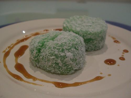 Pandan Sticky Rice Cake Recipe