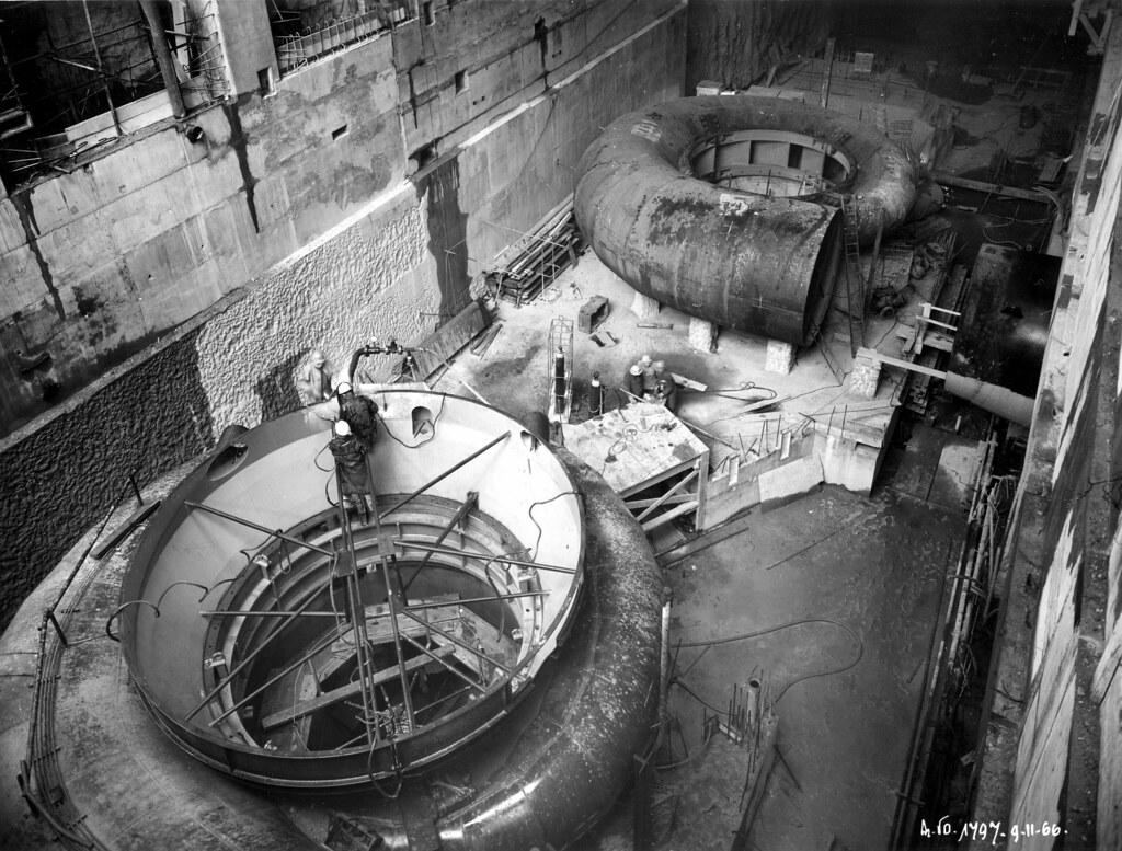 construction de la centrale du barrage de vouglans jura flickr. Black Bedroom Furniture Sets. Home Design Ideas
