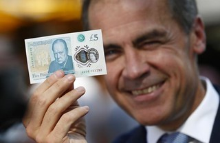 Mark Carney with Polymer Fiver