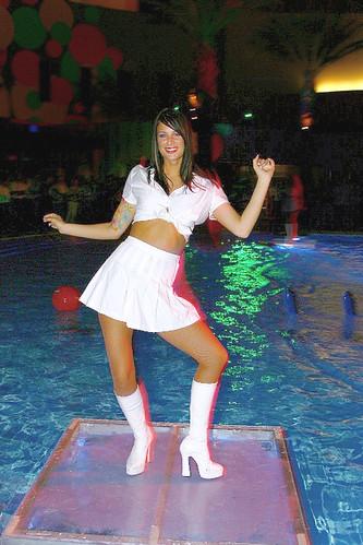 Dance Girl Palms Pool Party Sandrino 39 S Pics Flickr