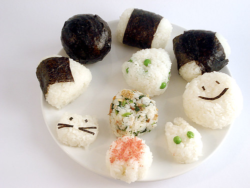 A plate of different kinds of onigiri | by maki