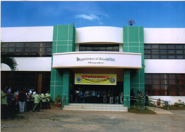 deped building in palawan the new depedpalawan building