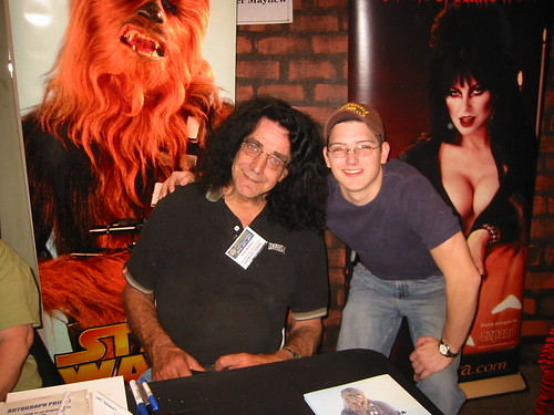 Peter Mayhew and me! (NYC scifi convention) Chewbacca | by Jpl3k - Jipple28