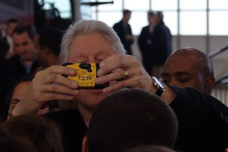 Bill taking a photo of himself | by marcn