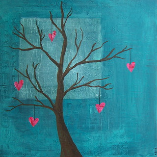 heart string tree | by eeeee