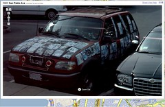 Sticker Car seen in Google Street View | by Si1very