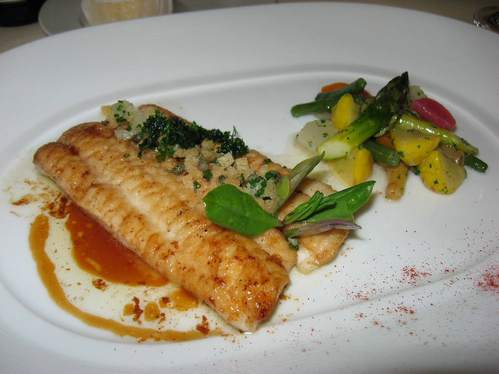 Everest: Filet of dover sole, petite grenobloise, lemon an… | Flickr