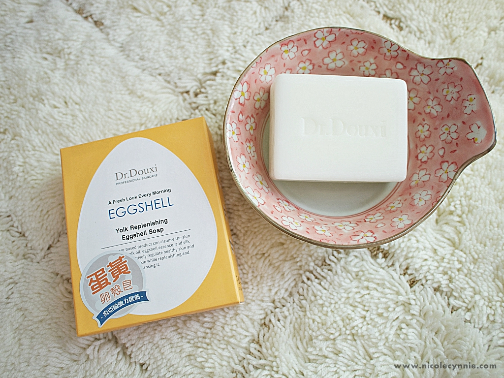 Nicole Cynnie | Dr.Douxi Yolk Replenishing Eggshell Soap 2