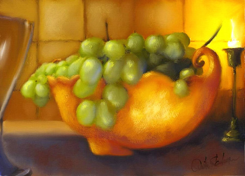 Bowl  of Grapes | by Anita Stanhope