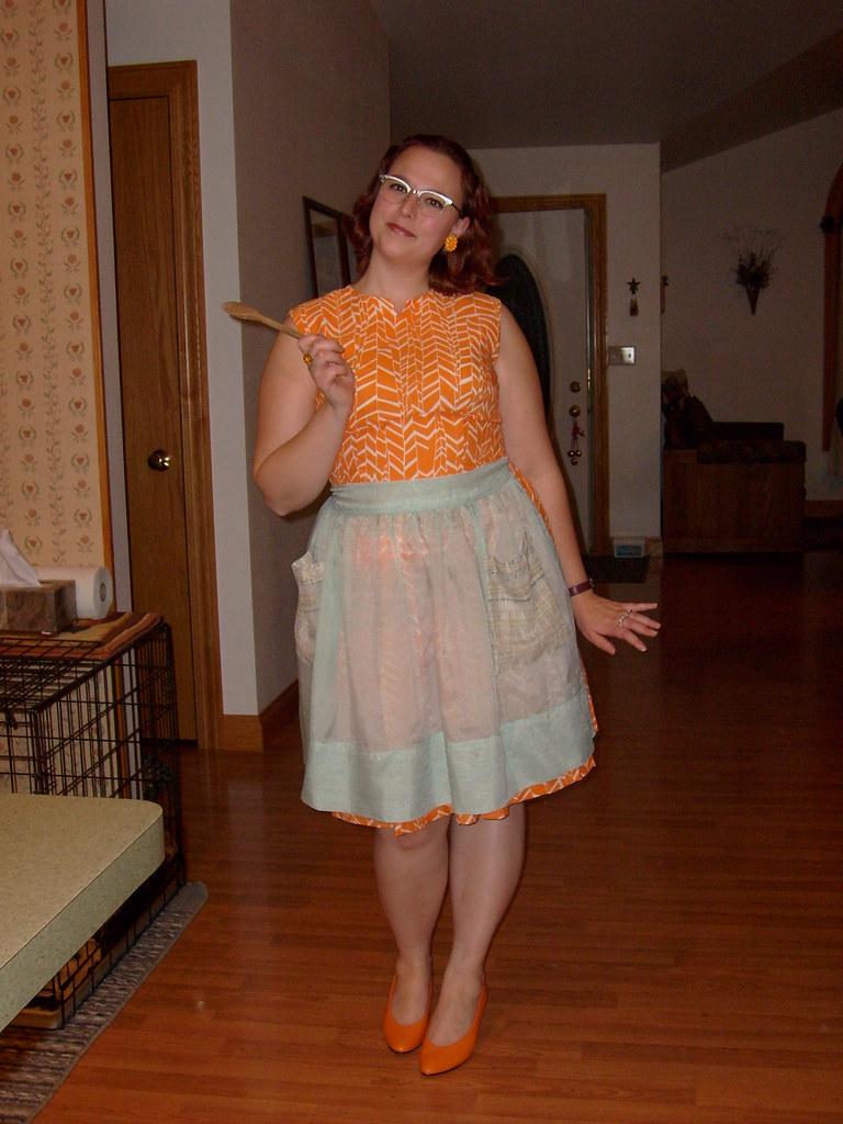 Old Fashioned Apron Dress