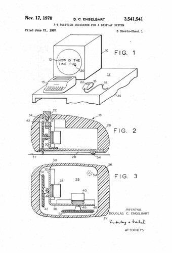 Engelbart Mouse Patent | by JulianBleecker