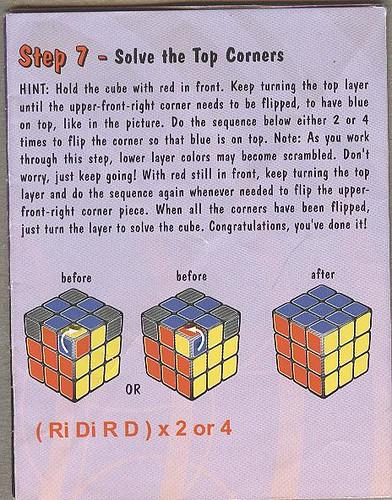 Rubiks Cube Solution Manual Flickr