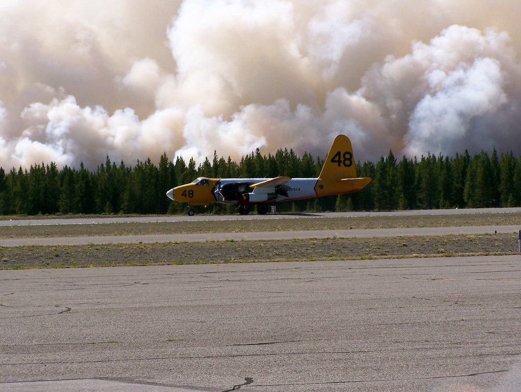 Fire Rescue Plane | The plane kept taking off and landing ...