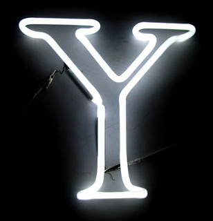 The Letter Y | by Lite Brite Neon