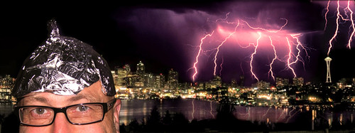 200 Lightning Strikes In Seattle Mondays Quirky Storm Flickr