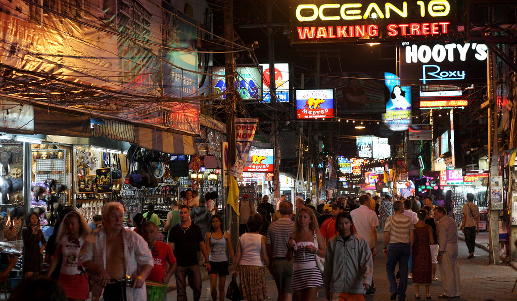 Image result for pattaya walking street