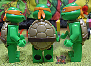 "LEGO TEENAGE MUTANT NINJA TURTLES :: ""Mikey's Mini-Shellraiser"" iv (( 2014 ))"