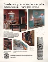 1974 DHARMA Initiative Disinfectant Spray ad | by maxpixpix