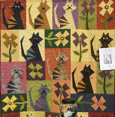 cat quilt | by hobby lass