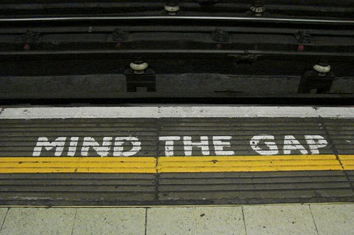 Mind the gap | by Marcio Cabral de Moura