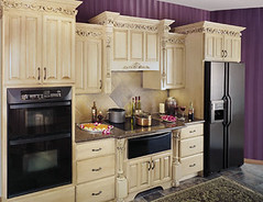 Upscale Kitchen Cabinets - Fieldstone Cabinetry | This kitch… | Flickr