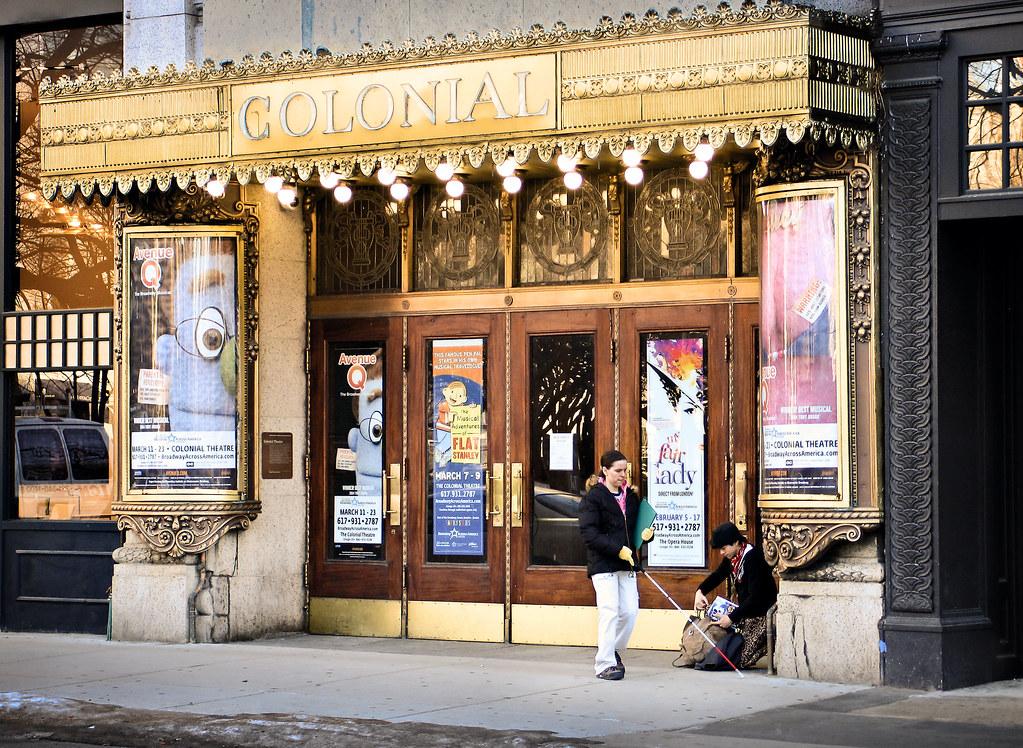 Colonial Theater 1900 106 Boylston Street Boston Mass