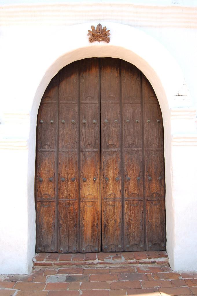 Mission Door   by orange27 Mission Door   by orange27 & Mission Door   San Diego CA   Raul   Flickr