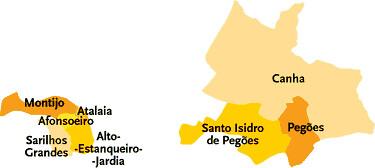 mapa concelho montijo Concelho do Montijo   Portugal | Mapa das freguesias | Jorge  mapa concelho montijo