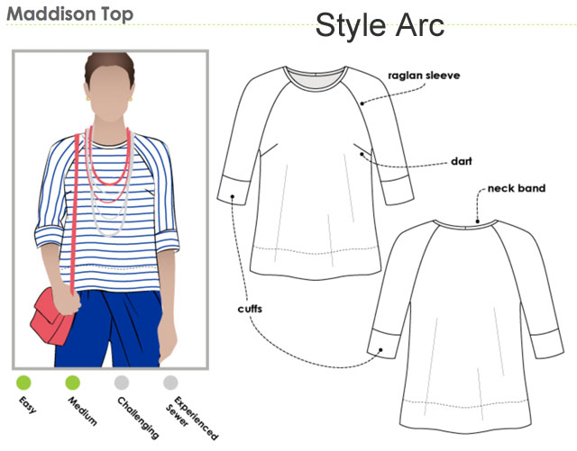 Style Arc Madison top