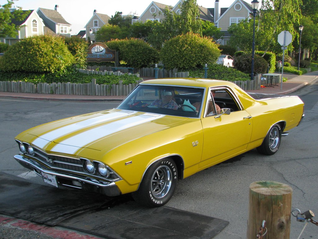 1969 Chevrolet El Camino Ss 350 Custom 4v78236 1 Flickr