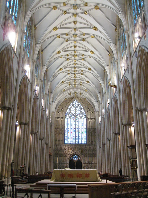 Saturday york minster cathedral the nave by for West window york minster