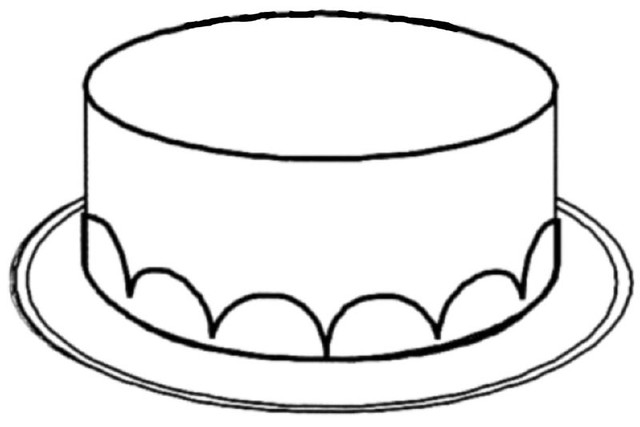 Cake Without Candles Coloring Sheets Flickr