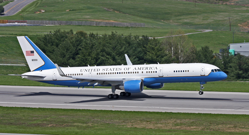 us air force b757 200 a us air force boeing 757 200 c32 flickr