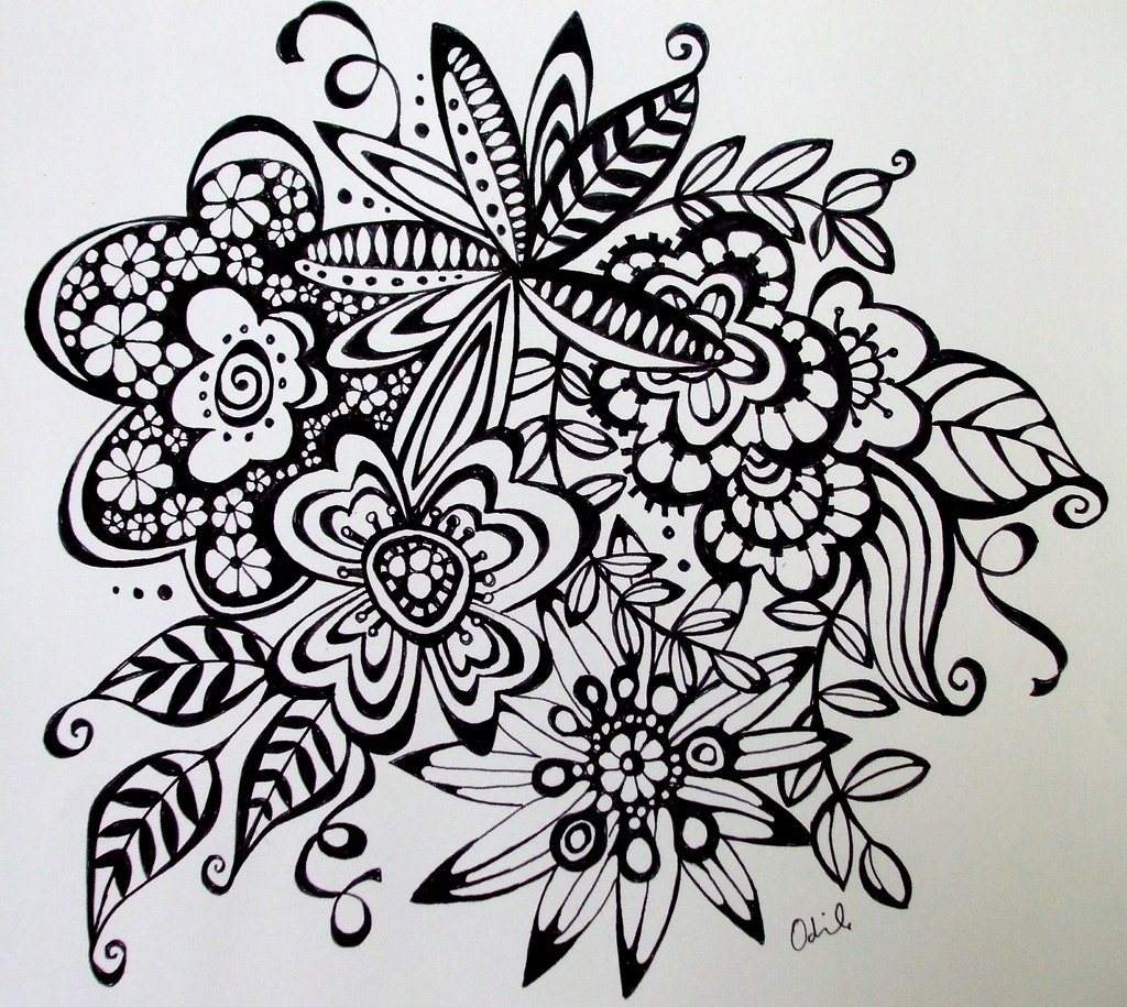 Doodles that you draw and what it really means for Cool art design ideas