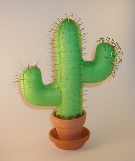 Cactus Pincushion | by Crafty Intentions