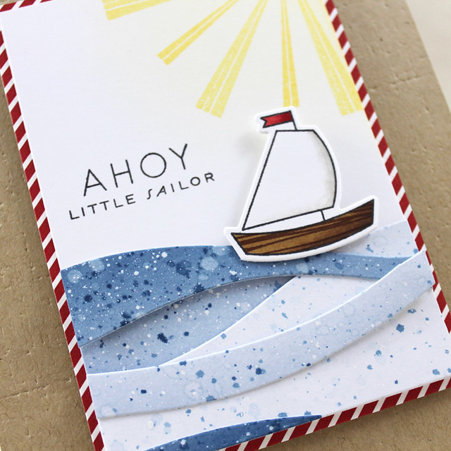 10th Anniversary - Ahoy Little Sailor Close Up 2