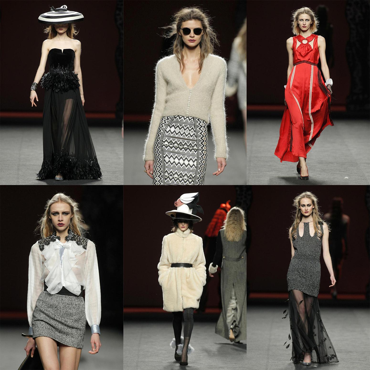 Tulle black skirt blazer maje madrid fashion week fashion outfit2