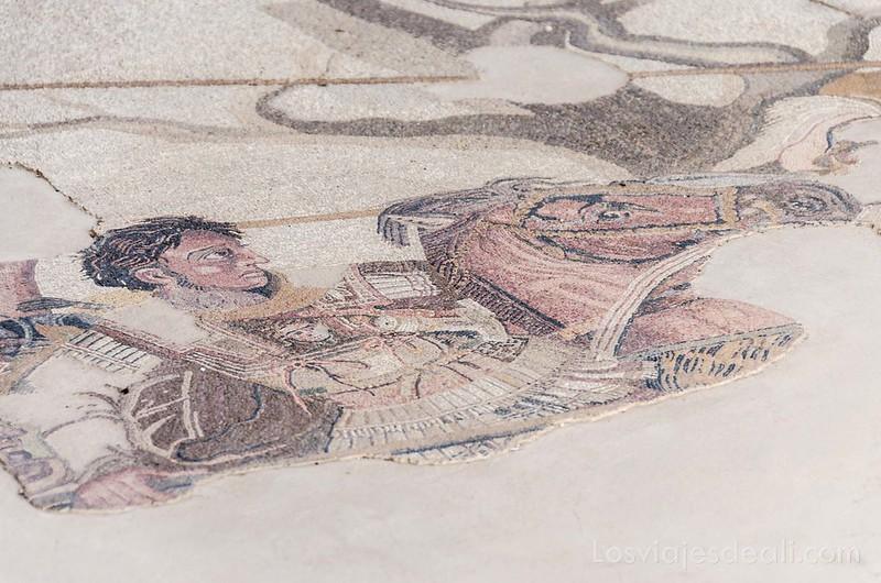 visita a Pompeya alejandro magno