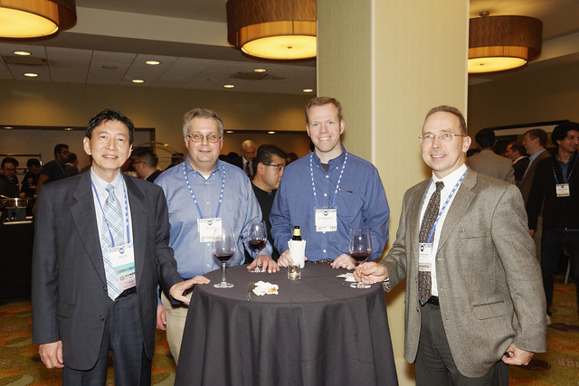 CICS/MTL Reception at ISSCC