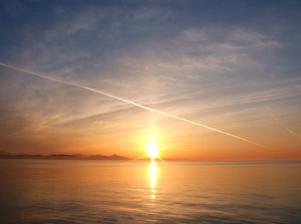 Sunset Over British Columbia Jessica Spengler Flickr