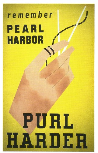 """Remember Pearl Harbor Poster >> WWII poster - """"Remember Pearl Harbor -- Purl Harder""""   Flickr"""