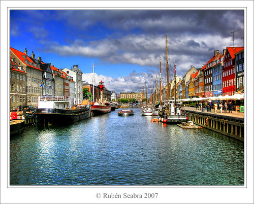 * Port of Nyhavn * | by *atrium09