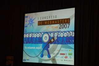 cartel congreso webmasters | by Amy on Efecto Mariposa